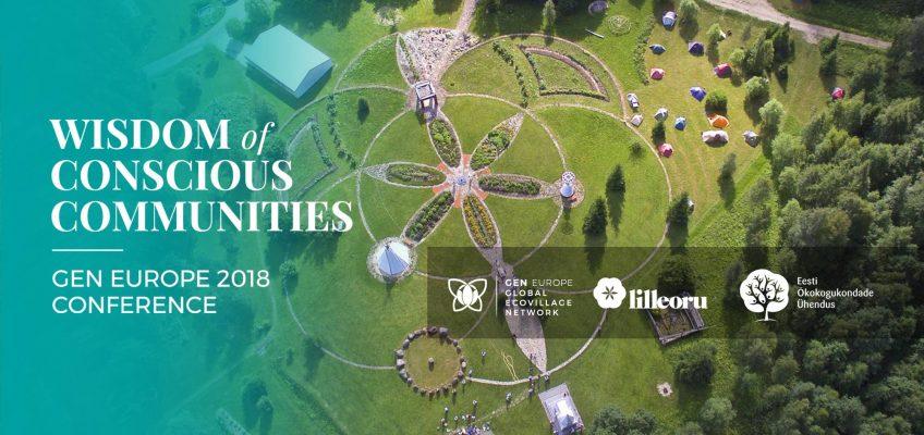 WeWorld bei der GEN conference 2018 in Lilleoru, Estland