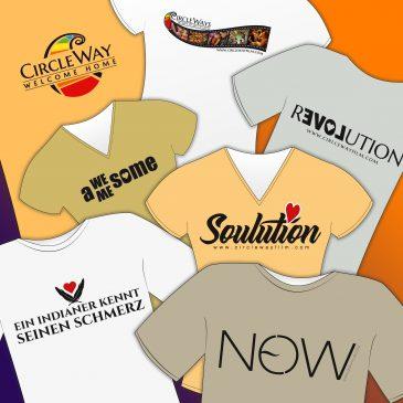 T-Shirts mit Herz